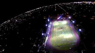 Phantom Drone at high school football game