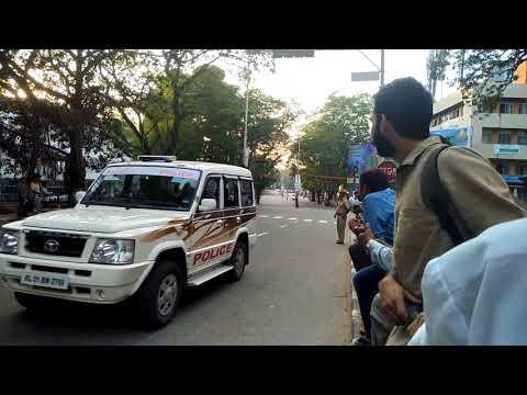 P M .Narendra Modi Entry @ ..trivandrum