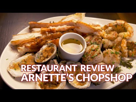 Restaurant Review - Arnette's Chop Shop | Atlanta Eats