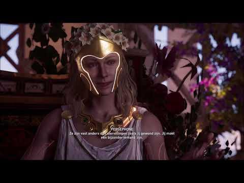 AC Odyssey PS4 DLC - Het lot van Atlantis - Ontmoet je makers: Duister  Paard (Persephone)