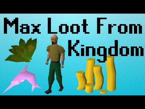 [OSRS] MAXED Loot From Kingdom Management