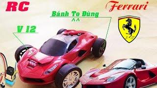 Chế siêu xe  Ferrari v12 RC cực mạnh | điều khiển từ xa 2.4GHz - Thủy Văn TV
