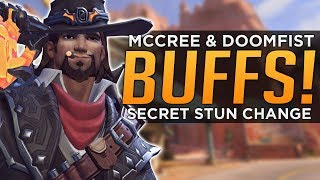 Overwatch: The SECRET McCree & Doomfist BUFF!