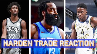 James Harden Traded to the Brooklyn Nets | Ringer NBA Show Live