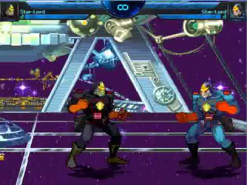 Mugen Preview: Star-Lord by Arkady