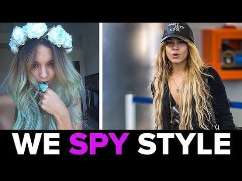 We Spy: Vanessa Hudgens's New (Blue!) Mermaid Hair