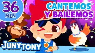 ¡CANTEMOS Y BAILEMOS JUNTOS! | Recolipación de Canciones Infantiles | Juny Tony en español