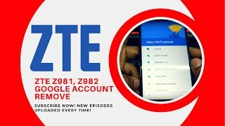 How To Bypass Google Account On Zte Z982