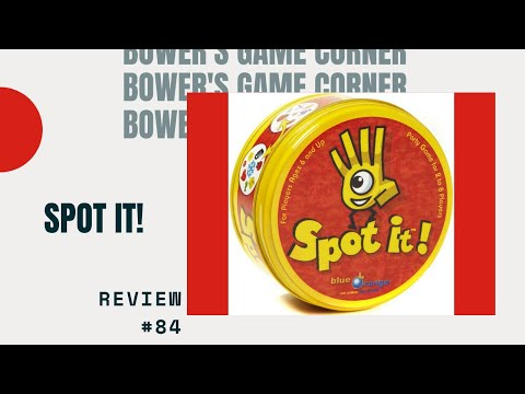 Bower's Game Corner: Spot It Review