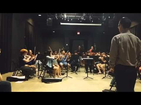 First Rehearsal Footage for Classical Music: A Portrait