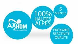 Video SPOT AX'HOM AGENCE INTERIM 100% HAUTES-ALPES download MP3, 3GP, MP4, WEBM, AVI, FLV Agustus 2017