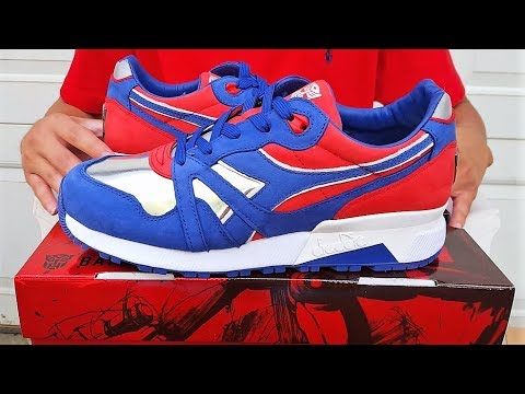 "BAIT X TRANSFORMERS X DIADORA PACK S9000 ""Optimus Prime"" Review!!! Only 100 Pairs!"