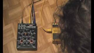 Making Sounds with a Jomox T-Resonator