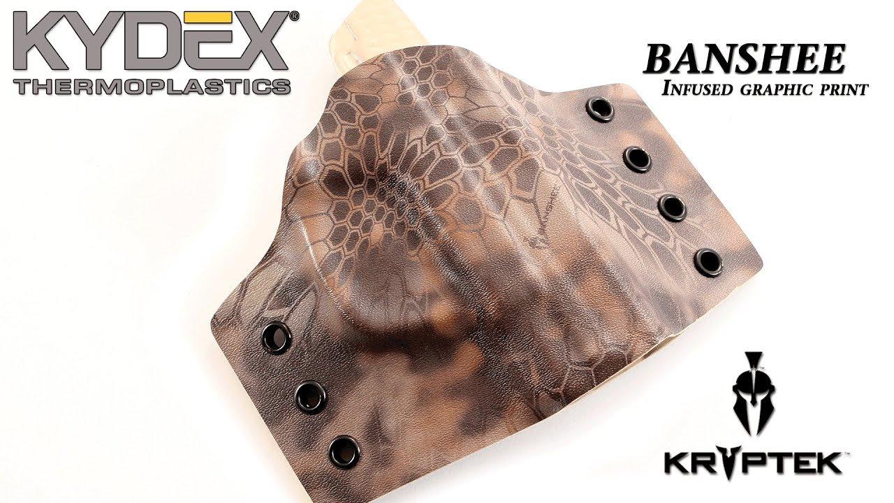 KYDEX® Sheet - Kryptek® - BANSHEE™ - Infused