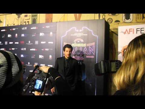 Francesco Scianna Walks the Red Carpet at the Cinema Italian Style Film Festival in Hollywood