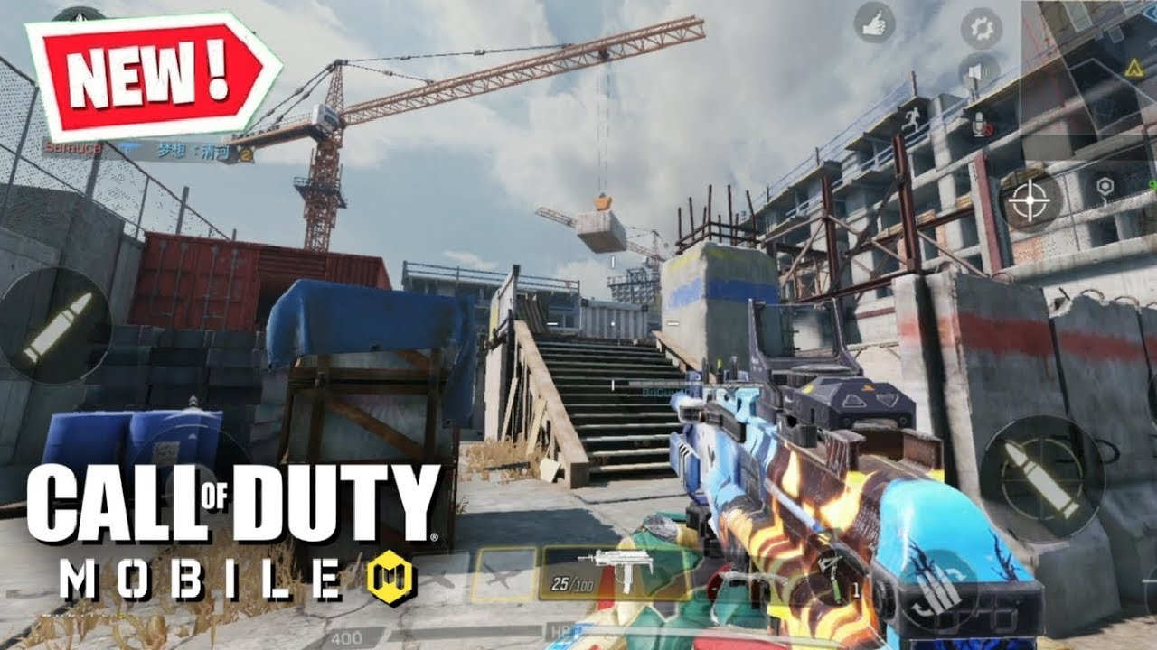 *NEW* CAGE MAP GAMEPLAY in CALL OF DUTY MOBILE (SEASON 3 MAP) thumbnail