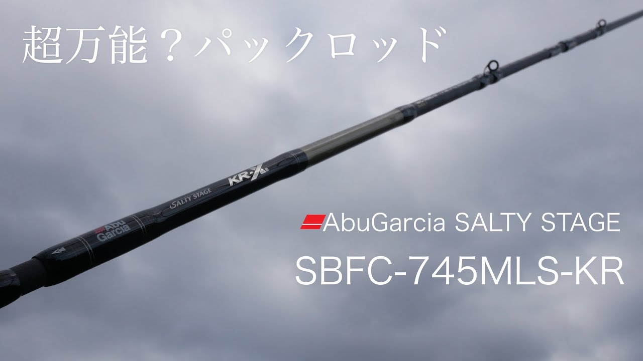 超万能?パックロッド SBFC-745MLS-KR 購入レビュー