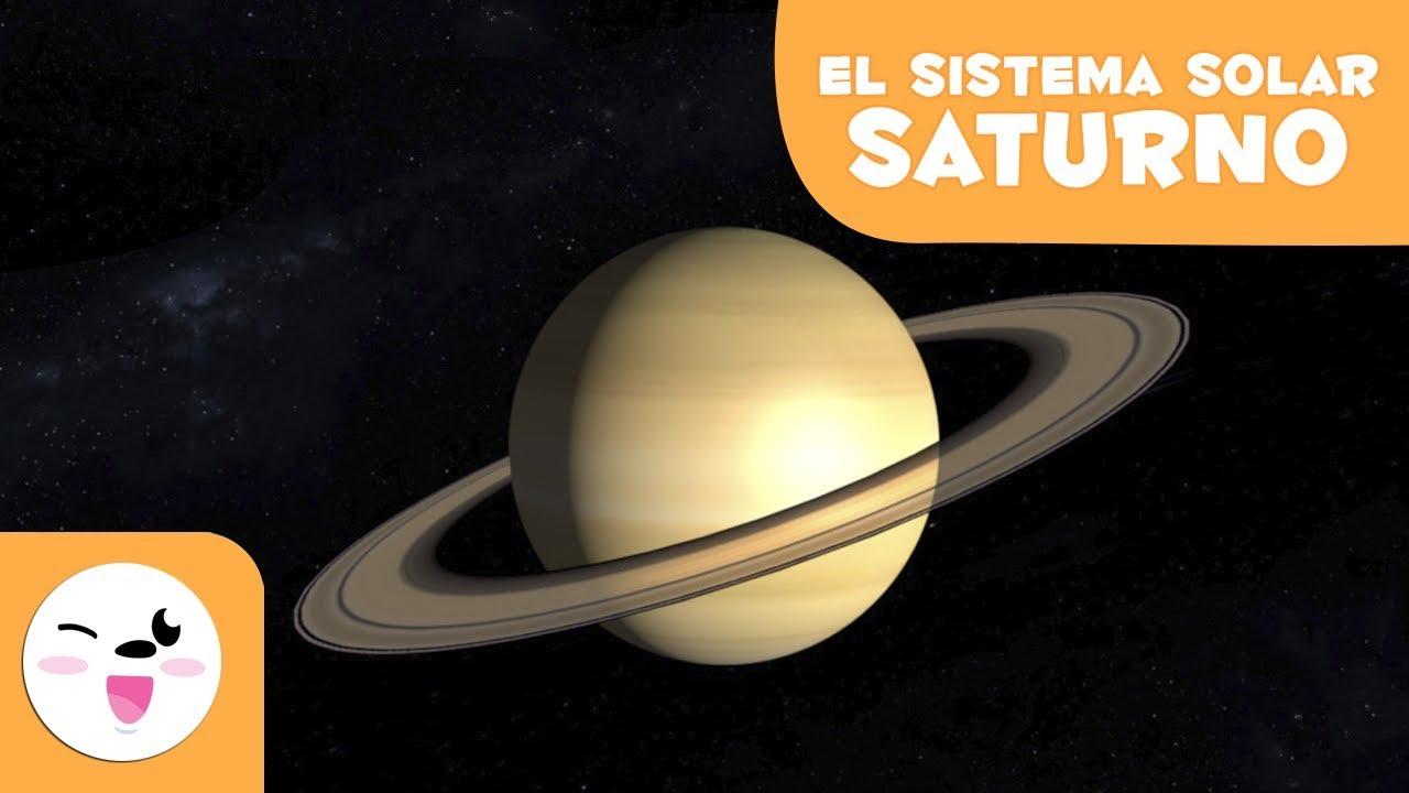 Saturno El Planeta De Los Anillos El Sistema Solar En 3d Para Niños Youtube
