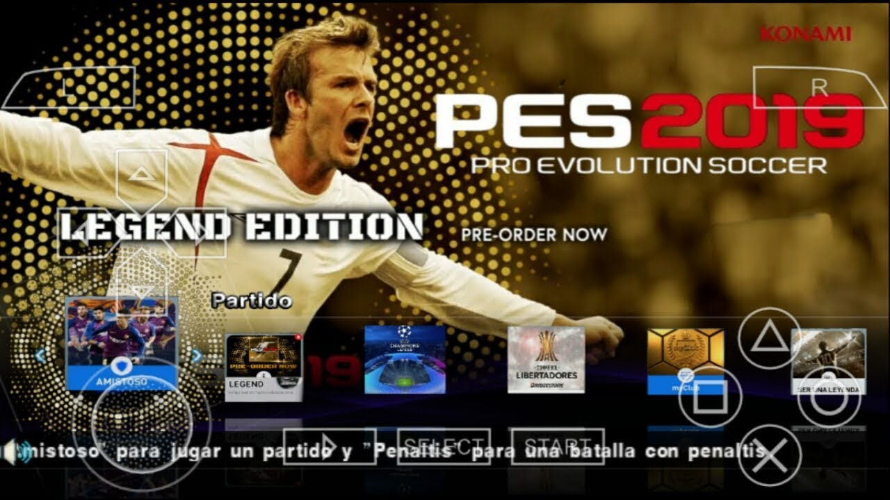 PES 2019 PPSSPP Android Offline 900MB Best Graphics New Kits & Transfers Update #1
