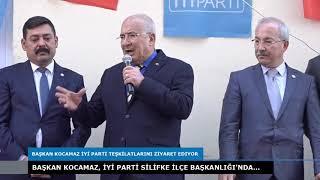 BAŞKAN KOCAMAZ SİLİFKE'DE...