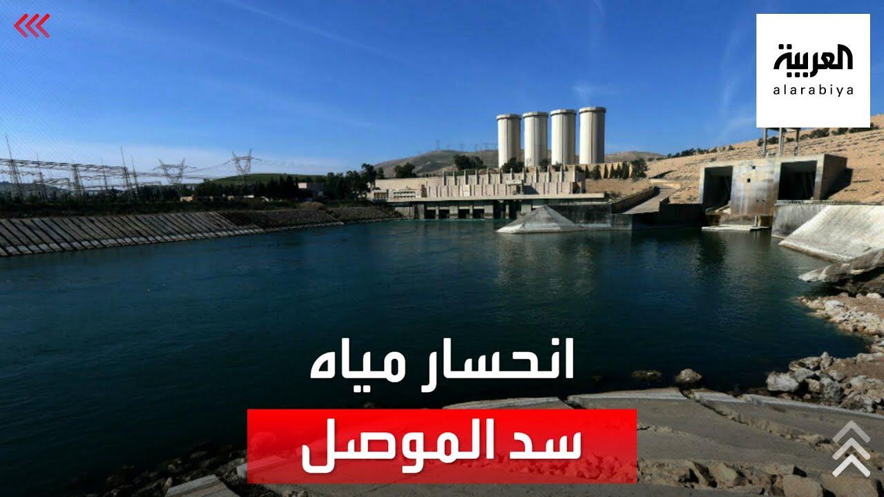بسبب تركيا.. مشهد مأساوي لانحسار المياه خلف سد الموصل  - 21:54-2021 / 9 / 16