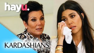 Kourtney In Tears Over Scott Break-Up | Keeping Up With The Kardashians