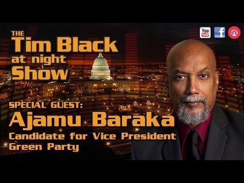 Ajamu Baraka Talks Obama, Bernie Sanders and Why You Should Go Green Party   TBAN