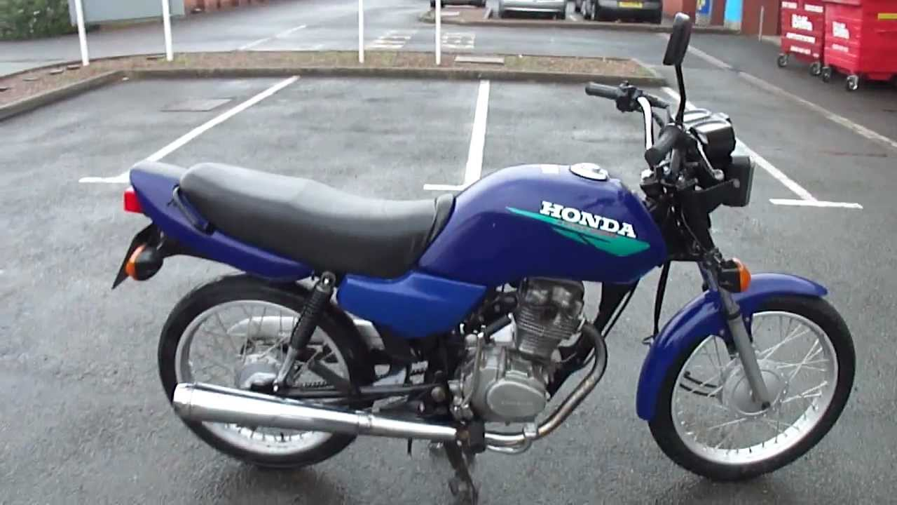 2001 honda cg125 cg 125 brazil motorbike great runner new. Black Bedroom Furniture Sets. Home Design Ideas