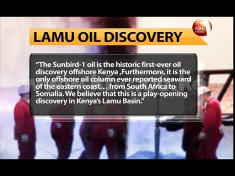 Kenya discovers more oil field off the coast of Lamu