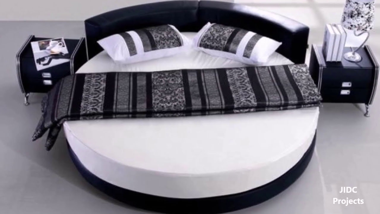 Round Bed Designs Modern And Contemporary Circular Shaped Bed Designs