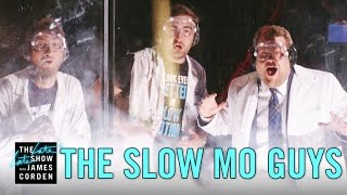 The Slow Mo Guys Blow Up a Watermelon - LIVE