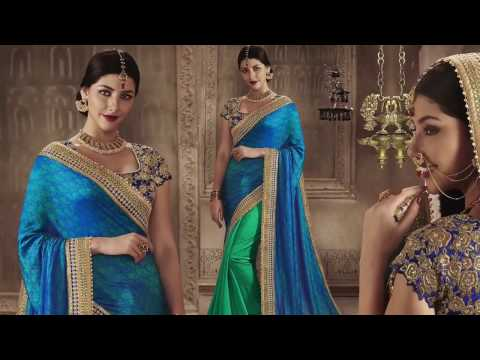 image of Party wear Sarees youtube video 1