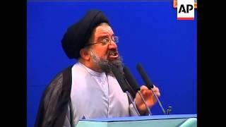 REPLAY Prayer leader urges Ahmadinejad to dismiss deputy as per Khamenei order