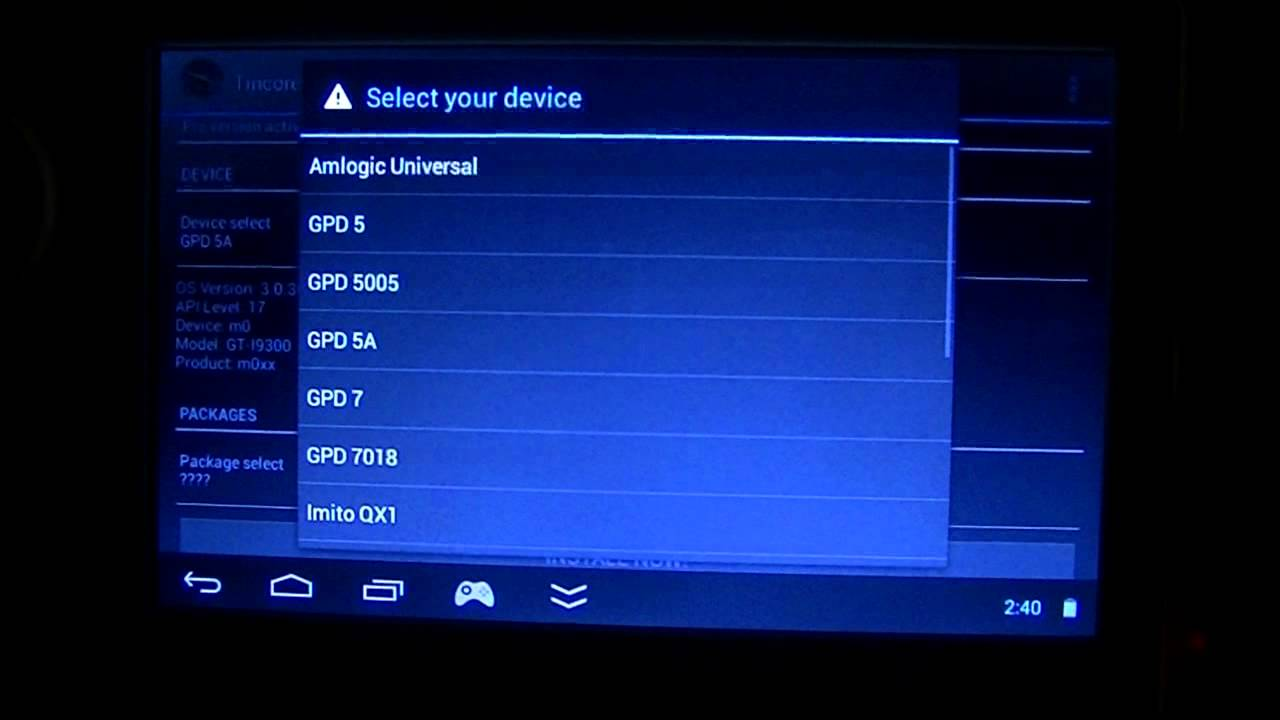 ROM] LegacyROM 2 0 for GPD Q88+ and Q89   Dingoonity org - The