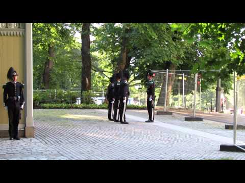 Norway movie clip Royal Guard changing guards