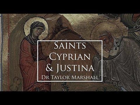 Saints Cyprian and Justina (Dr Marshall Saint for Sept 26)