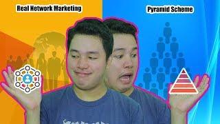 PYRAMID Scheme vs REAL Multi-level Marketing (TAGALOG)