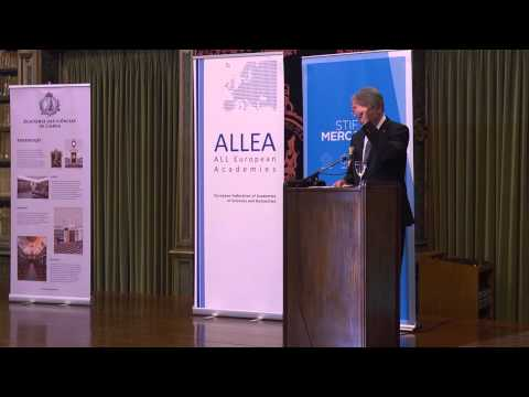 Opening and Laudatio - 2015 All European Academies Madame de Staël Prize Award Ceremony