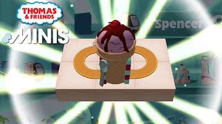 Thomas and Friends Minis - The Ice Cream Stand 2021 Thomas Minis! ★ iOS/Android app (By Budge)