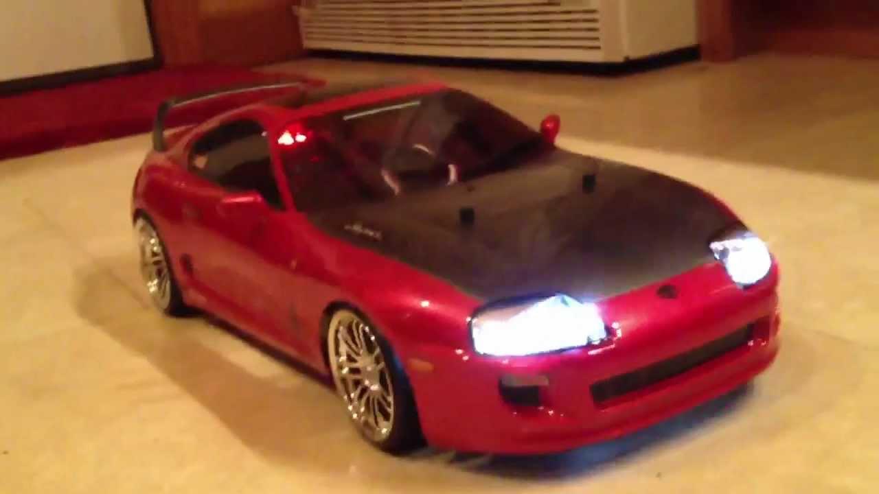 Tamiya Tt Rc Toyota Supra Youtube