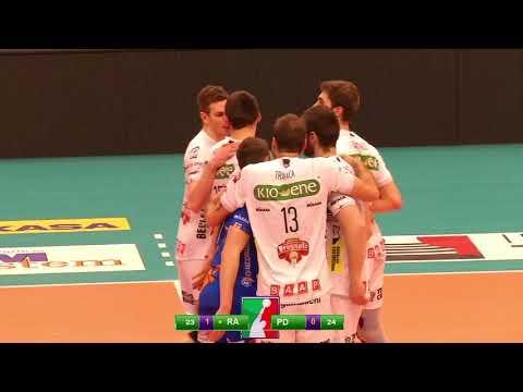 Gli highlights di Bunge Ravenna – Kioene Padova 3-2