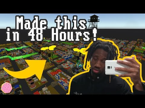 🖥️ Making A Game In 48 Hours With Strangers!
