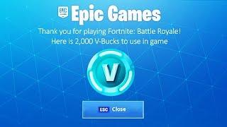 How to Get Free V-Bucks in Fortnite 2019
