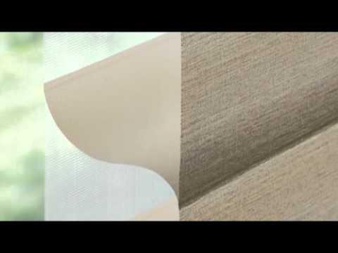Hunter Douglas Alustra Silhouette Shadings In Brio Youtube