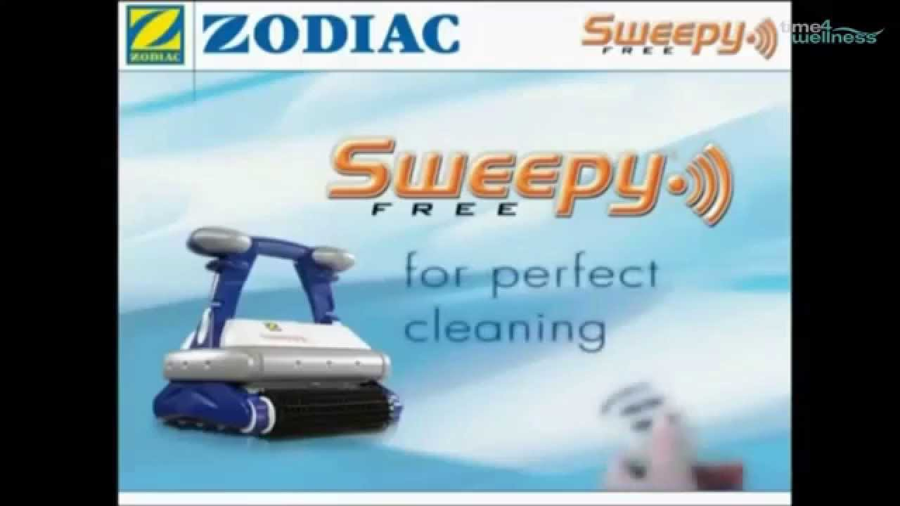 Poolreinigung Zodiac Zodiac Sweepy Free Poolsauger Time4wellness