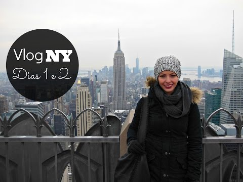 Vlog NY Dias 1 e 2 | Memorial, Carlo's Bakery, Water Taxi, Top of the Rock, neve e mais