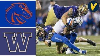 #19 Boise State vs Washington Highlights | 2019 Las Vegas Bowl | College Football