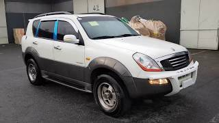 Korean Used Car - 2002 Ssangyong Rexton RX290 4WD SUNROOF A/T [Autowini.com]
