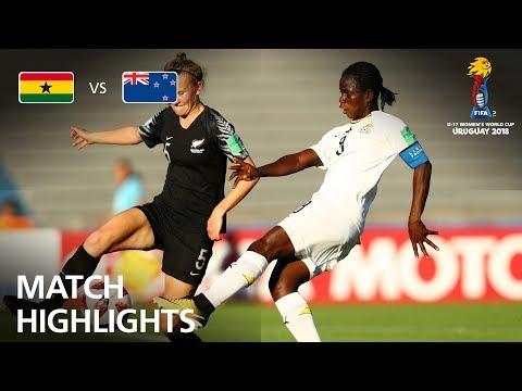 Ghana v New Zealand- FIFA U-17 Women's World Cup 2018™ - Group A