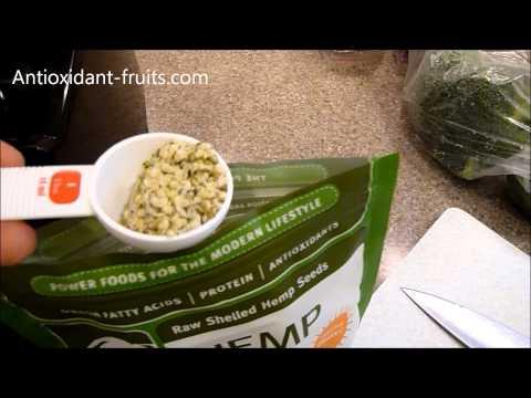 Navitas Naturals Hemp Seeds Review in a Green Smoothie – Antioxidant-fruits